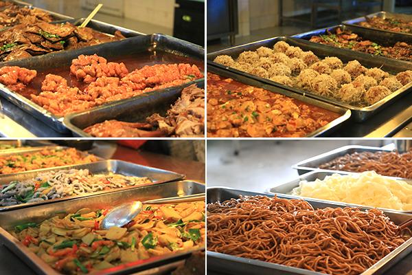 """学生食堂""""风味小吃"""",中式快餐经营方则根据气候,饮食习惯不断变换图片"""