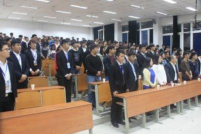 我院管理分院学生会换届大会顺利举行