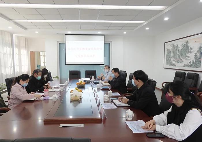 安徽省教育厅返校评估专家组检查我校返校准备工作